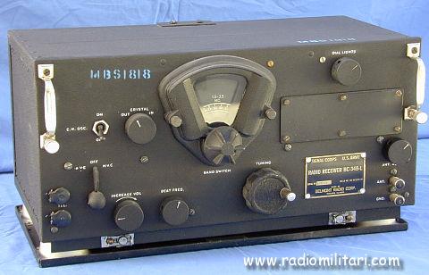 Radio Receiver BC 348 J BC 348 N BC 348 Q