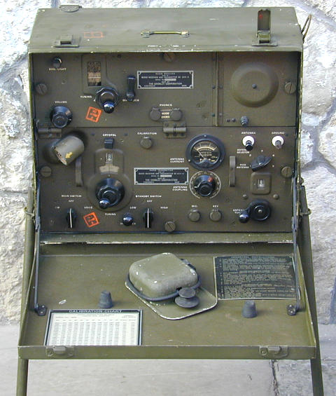 Radio Set BC-654-A SCR-284-A Receiver and Transmitter