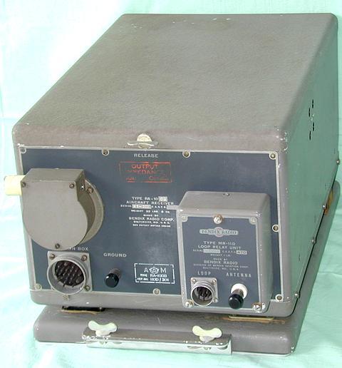 RA 10D Aircraft Radio Receiving Equipment Year 1941 BENDIX